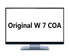 Original Win 7 OEM COA Key License Sticker for Scrap PC