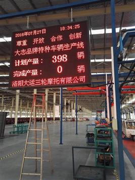 LED生產看板|LED生產管理看板