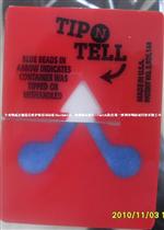 红色TipnTell防倾斜标贴