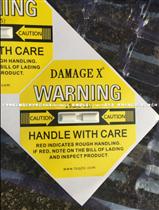 25G黄色DAMAGE X防震动标签