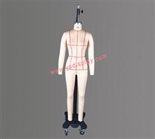 女装板房模特2