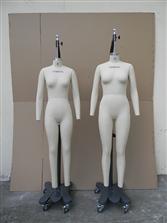 女装立裁模特3