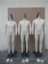 男装立裁模特