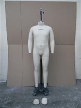 男装立裁模特2