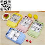 304儿童餐盒(Stainless steel Children's tableware)ZD-ETCJ16