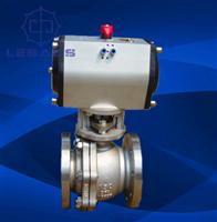 Q941F-150LB不銹鋼美標氣動球閥