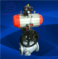 Q647F-16C固定式氣動球閥