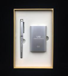 小米10000毫安移動電源+商務筆-1367