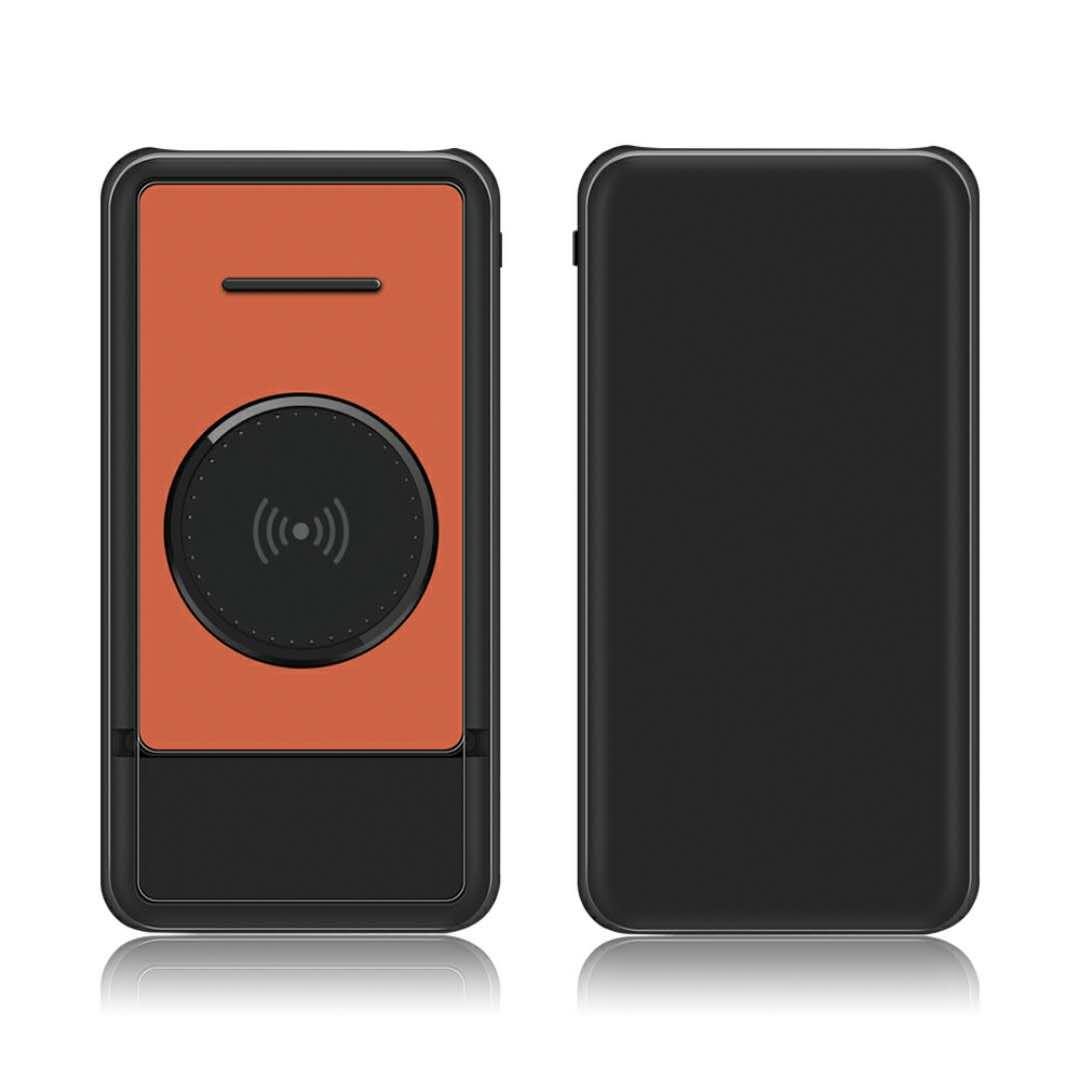 iphone专用移动电源_Qi无线充移动电源充电宝带支架随意调节角度10000毫安充三部手机 ...