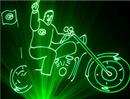 1-3W Green Laser Light