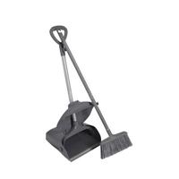 防风垃圾铲带扫把(塑料)