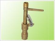 6分/1寸黄铜快速取水阀2件套取水器