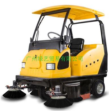 明诺MN-E800W电动驾驶式扫地车