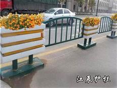 南通市PVC花箱护栏