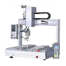 自动焊锡机流水线点胶机双平台焊锡机单向点焊机