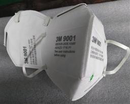 3M 9001 环保装 折叠式防护口罩(耳带式/标准号)