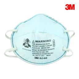3M 8246 R95 酸性气体防尘口罩  WX700900151