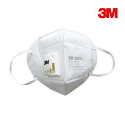 3M 9001V 环保装 折叠式带阀口罩(耳带式/标准号)