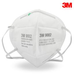 3M 9002 环保装 折叠式防护口罩(头带式/标准号) XH003897515 中国版