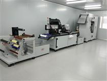 全自動電器銘板絲印機、電飯鍋麵板印刷機