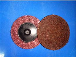 "3M (05527)原装2""红色亚麻尼龙扭矩砂碟片"