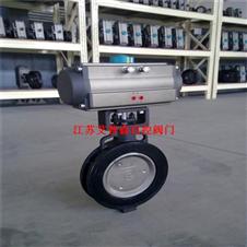 高性能气动对夹蝶阀GD673H-150LB