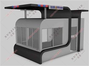 XJ-Z62南京治安岗亭,大型治安岗亭,可移动式治安岗亭