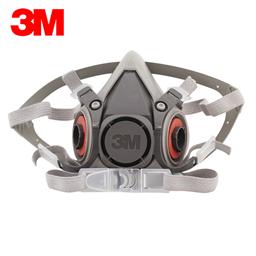 3M 6100半面型防护面具