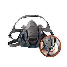 3M 650PQL 尘毒呼吸防护面具套装(6502QL) XH003866726