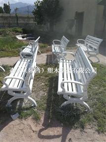 延安公园椅厂家哪里有?森木塑木专业生产公园椅12年