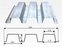 YX75-200-600楼承板