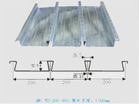 YX51-200-600缩口楼承板