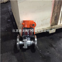 QY341F-16P DN50不锈钢涡轮氧气专用球阀
