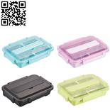 304塑钢方形深餐盒(Stainless steel snack plate)ZD-KCP36