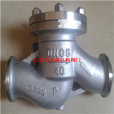 低温止回阀 不锈钢低温焊接止回阀DH61Y-25P
