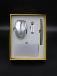 10000毫安電源+無線鼠標+8G手機兩用u盤 +商務筆  -1367
