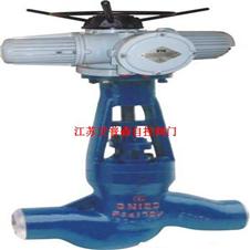 电站截止阀 电动高温高压焊接截止阀J961I-P54 100V