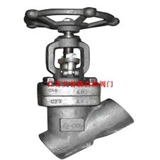 Y型高压焊接截止阀J65H-600LB