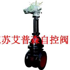 电动铸铁法兰闸阀Z941T-10 Z945T-10