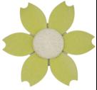 花朵水果叉 HZM-1004