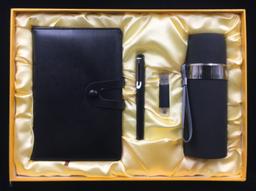 A5商務筆記本+正姿筆一代+8G手機U盤+304旅行保溫杯 -1367