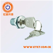 供给台湾S333系列电源锁 单拔电动车机械锁 16mm摩托车用电子锁