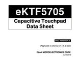EKT5705QN24J触摸芯片