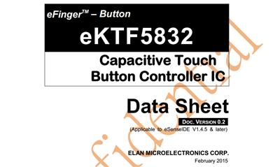 EKT5832系列触摸芯片