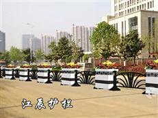 扬州市花箱道路护栏效果图