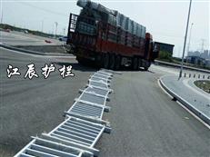 滁州市常规钢质护栏安装