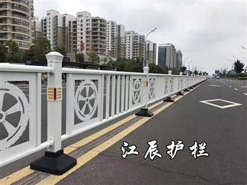 浦东新区城市文化花式护栏设计
