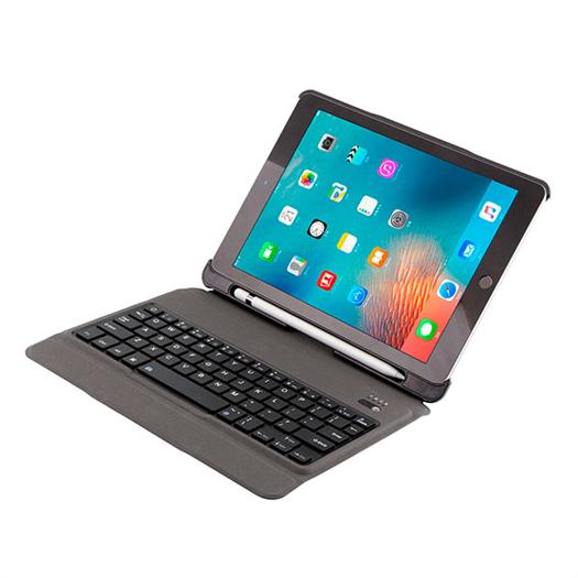 超薄无线键盘 带笔槽皮套可分拆磁吸蓝牙键盘 用于ipad pro 9.7 T-201