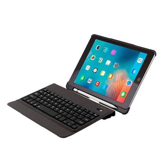 Split Ultra-thin Wireless Keyboard For  iPad Pro 9.7/ipad air/air2 With Pen Slot T-201