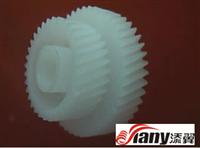 厂家直销塑胶料斜齿轮,马达轮